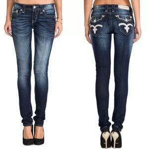 Rock Revival Vicky Skinny Dark Wash Jeans